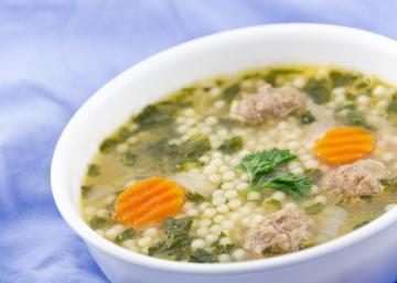 """Soupe """"Noce à l'italienne""""... Une SOUPE qui donne envie d'assister à un MARIAGE italien!"""