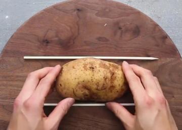 Depuis qu'il cuisine ses pommes de terre de cette façon, tout le monde se les arrache!