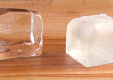 Comment faire des glaçons transparents?