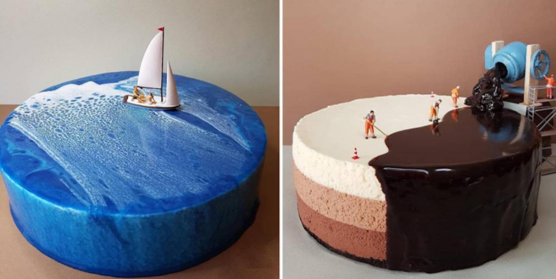 Ce pâtissier italien crée des mises en scène en gâteaux totalement incroyables!