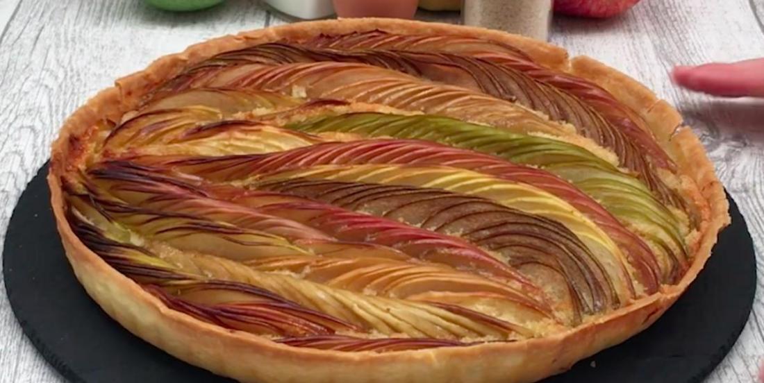 Recette gourmande: une tarte aux pommes de luxe!