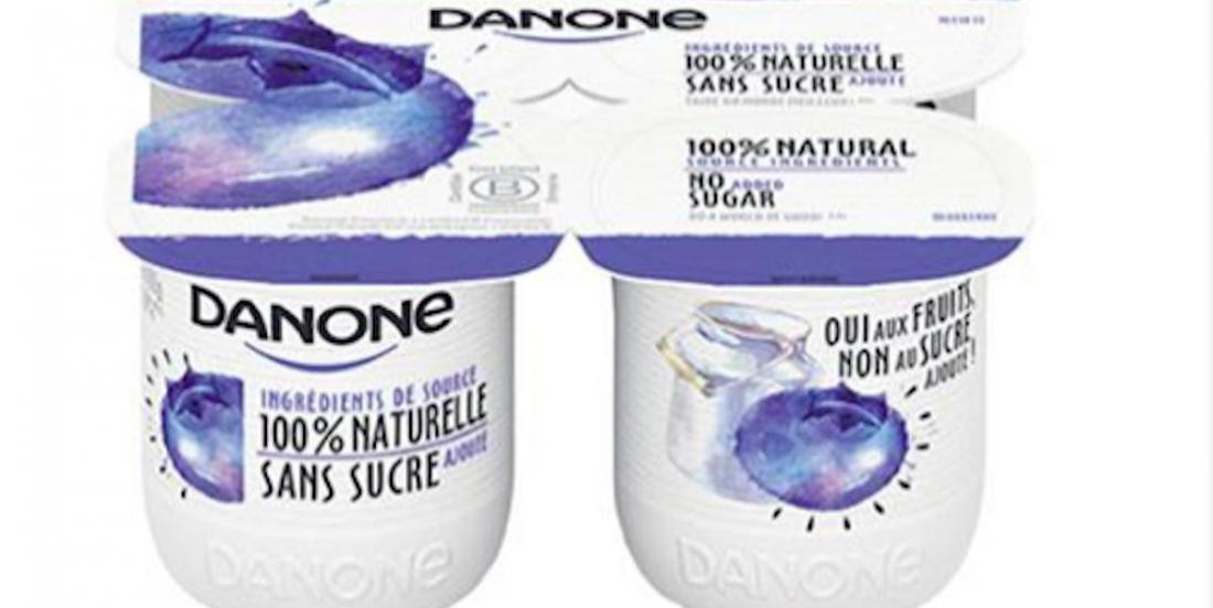 Danone lance un yogourt québécois et 100 %  traçable