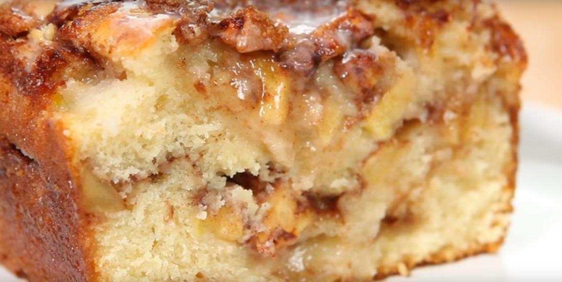 Ce pain aux pommes fait un malheur avec sa texture moelleuse et délicieuse
