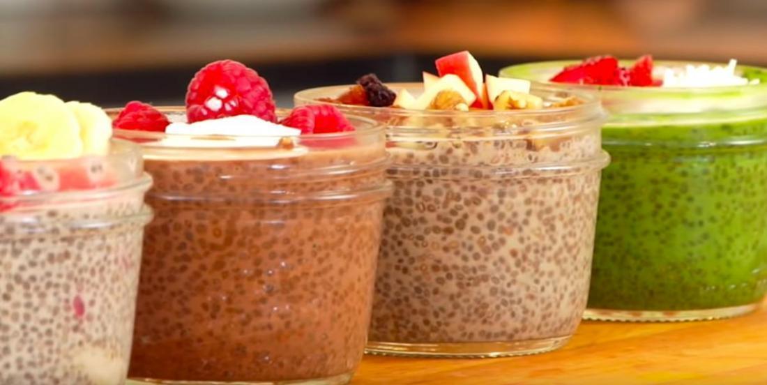 4 recettes de pouding aux graines de chia qui peuvent se déguster au déjeuner ou à la collation