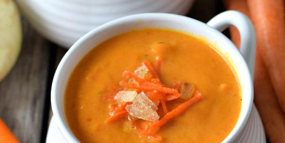 Soupe...carotte et gingembre