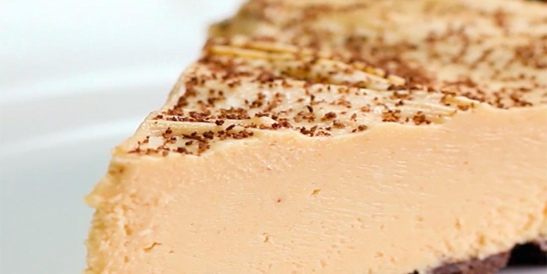 "Cette tarte au ""beurre de peanut"" est renversante! Wow!!!"
