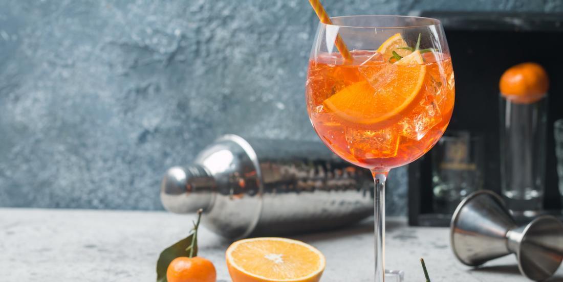 Un cocktail estival tout simple, mais délicieux: le spritz!