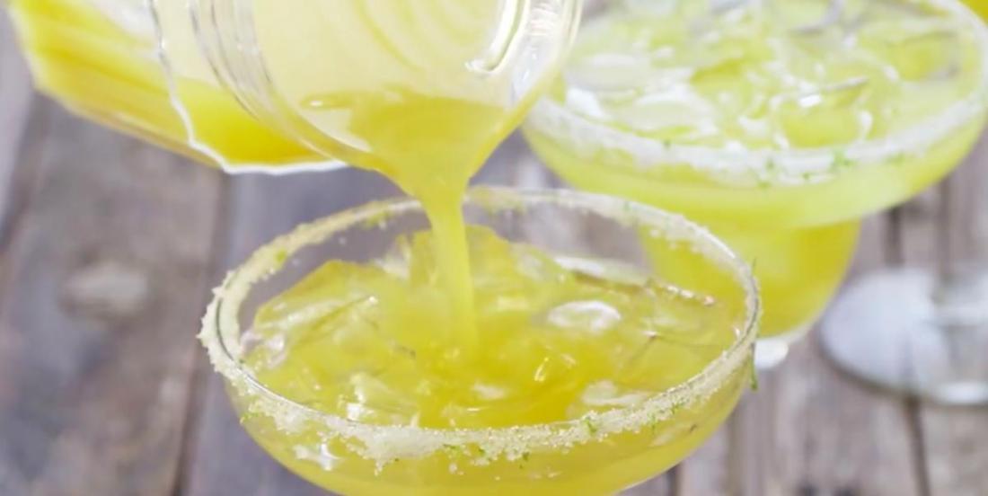 La margarita à l'ananas: un cocktail au goût des tropiques!