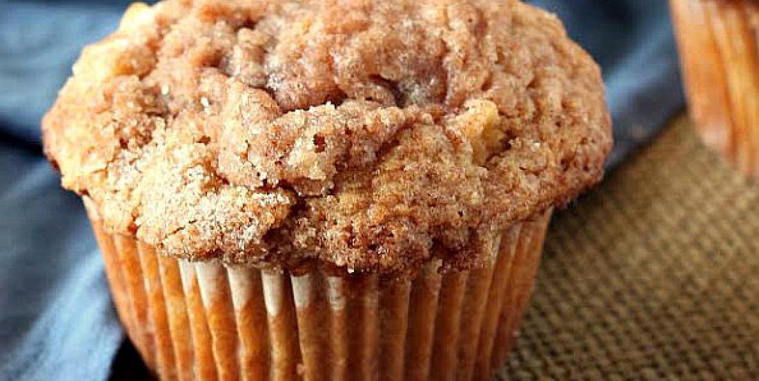 Muffins pomme et cannelle super faciles à cuisiner