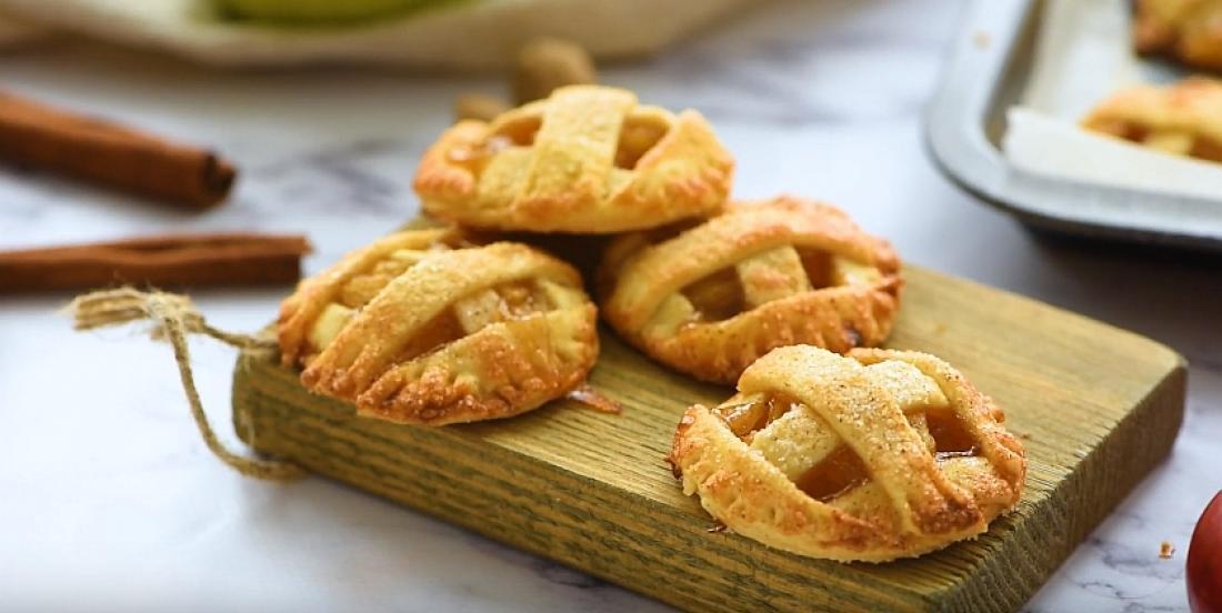 Biscuits à la tarte aux pommes et au caramel