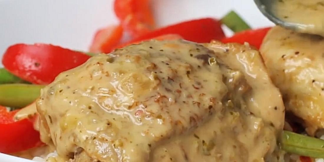 Ce poulet thaï au cari vert à la mijoteuse est meilleur que celui du resto!
