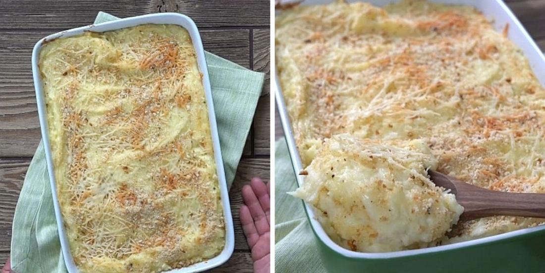 Casserole de purée de pommes de terre aux trois fromages, le meilleur accompagnement qui soit!