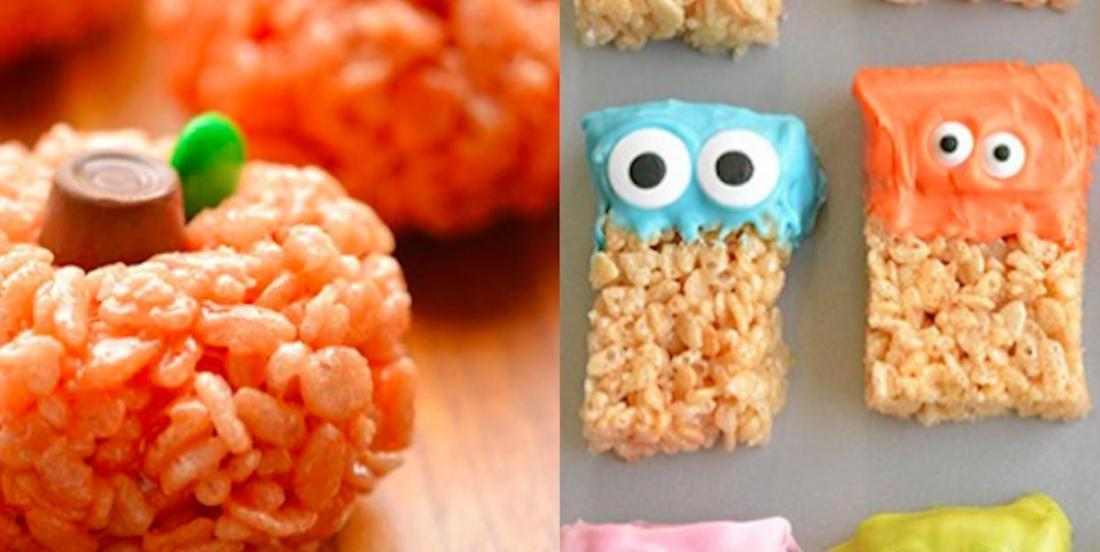 Pour Halloween, préparez ces deux gâteries à base de Rice Krispies