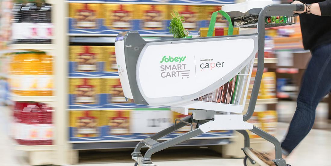 Des paniers d'épicerie intelligents bientôt dans les IGA du Québec?