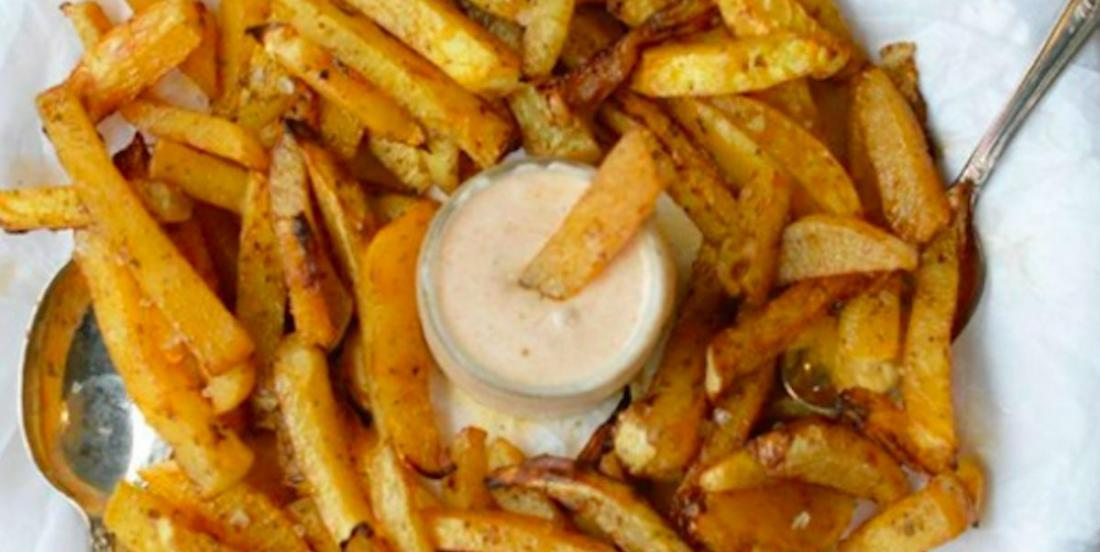 Recette facile de frites de navet et leur mayonnaise à l'érable