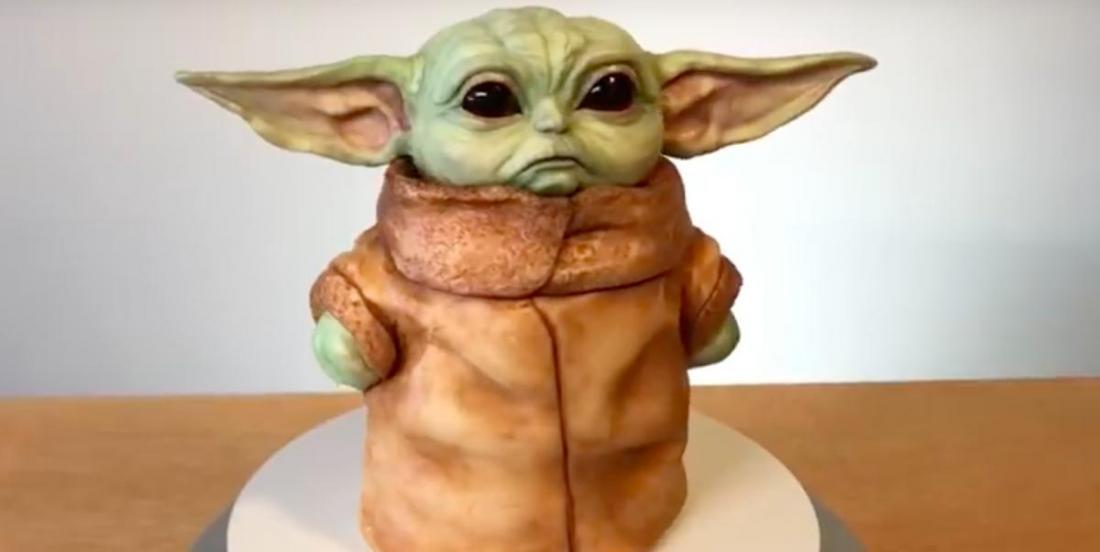 Une pâtissière a créé cet incroyable gâteau « Bébé Yoda »