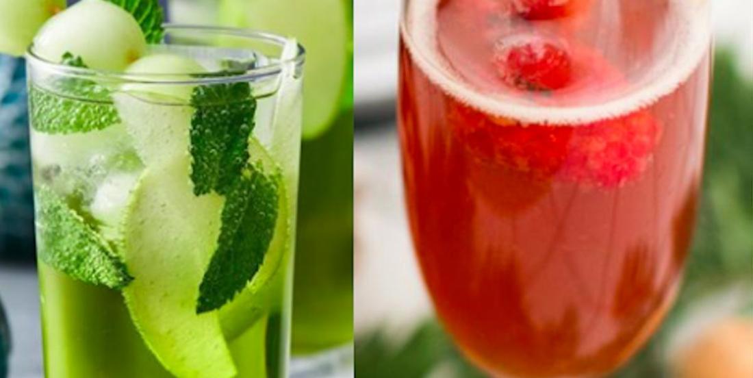 3  cocktails parfaits pour Noël!