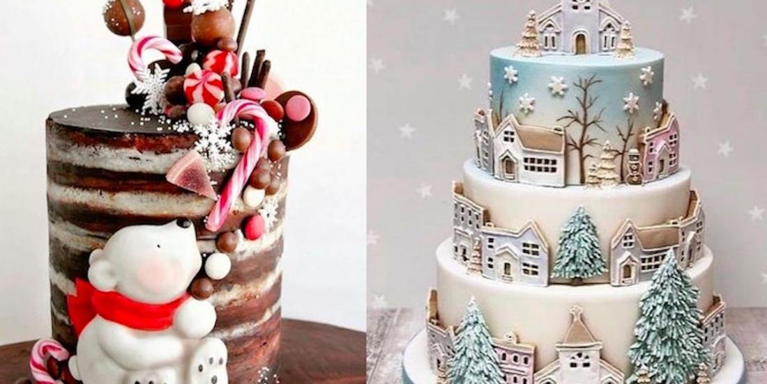 24 fabuleux gâteaux de Noël