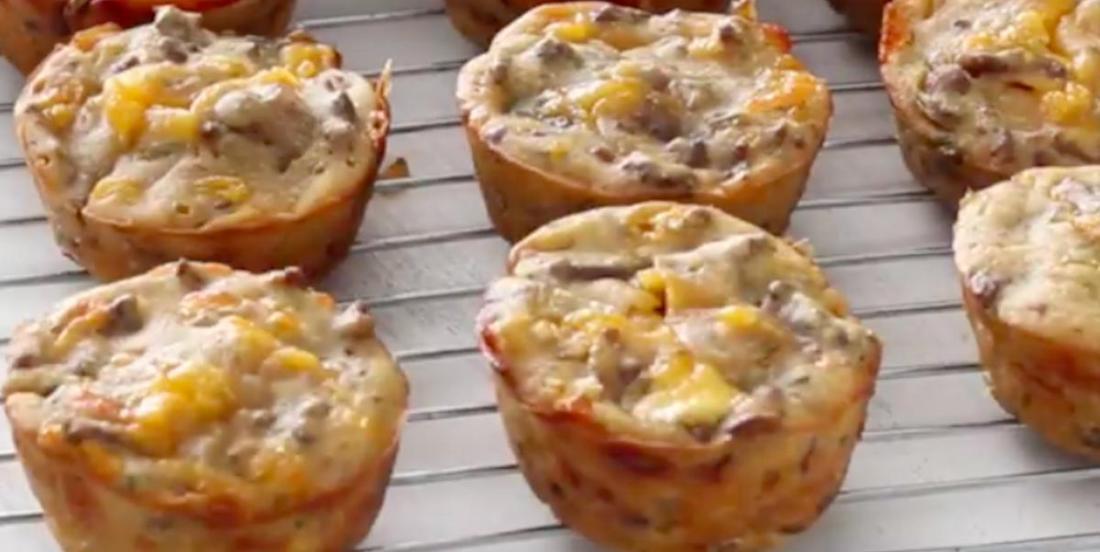 Savoureux feuilletés de cheeseburgers faciles à préparer... et à manger!