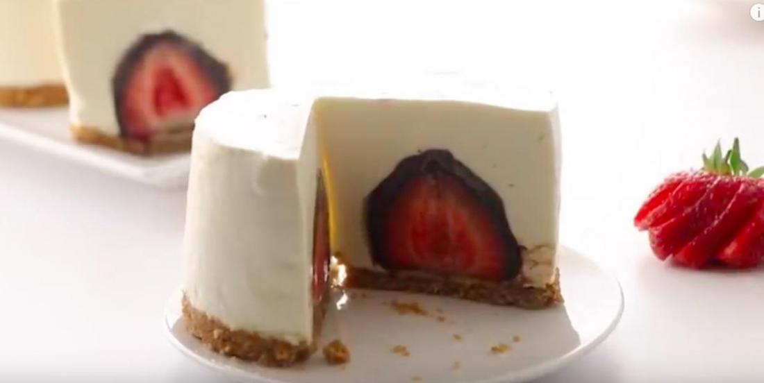 Décadents gâteaux au fromage avec surprises, sans cuisson
