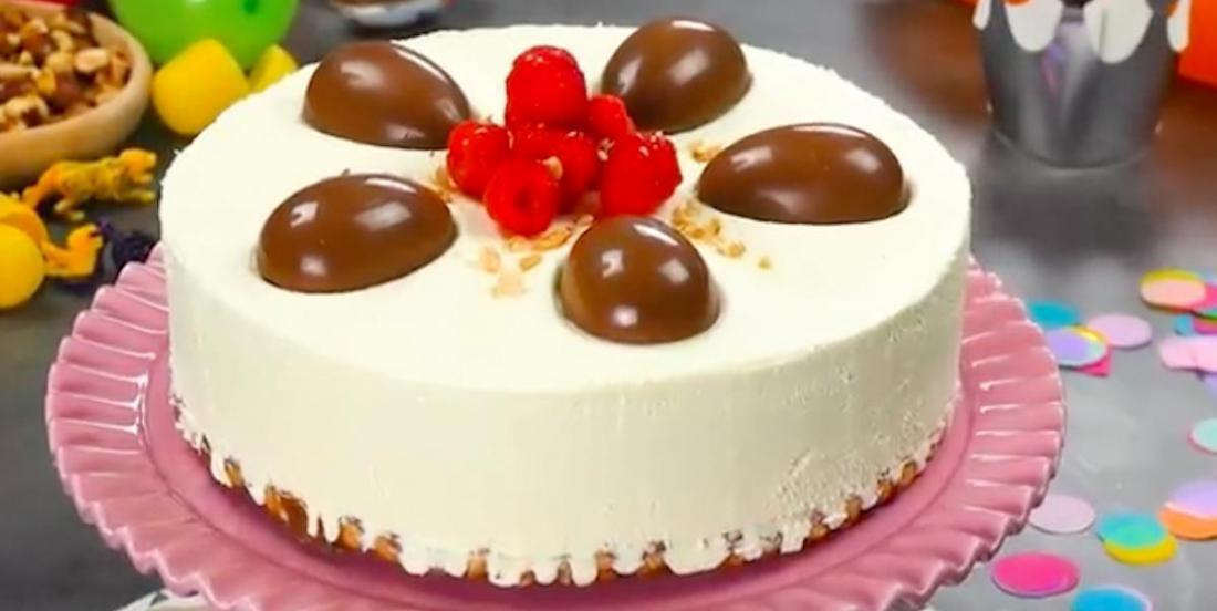 Totalement décadant: un gâteau au fromage rempli de surprises!