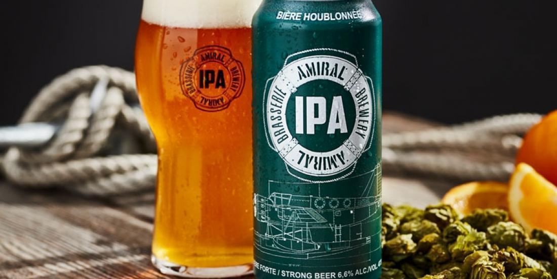 Dégustez cette onctueuse trempette aux oignons caramélisés à la bière IPA de la Brasserie Amiral