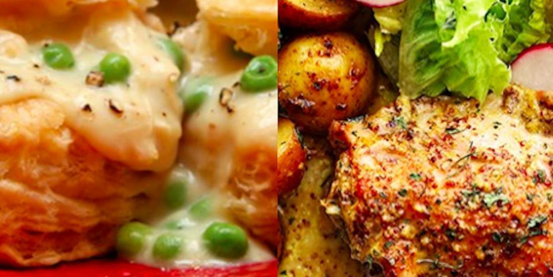 2 recettes à base de poulet super réconfortantes et surtout, savoureuses!
