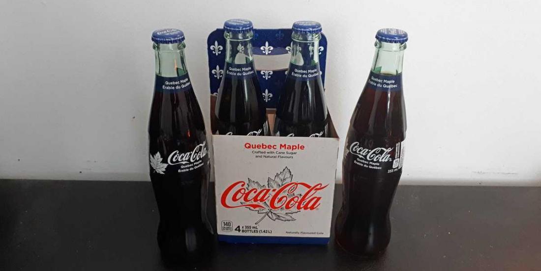 Coca-Cola Canada a lancé une toute nouvelle saveur de boisson gazeuse, la plus québécoise d'entre toutes!