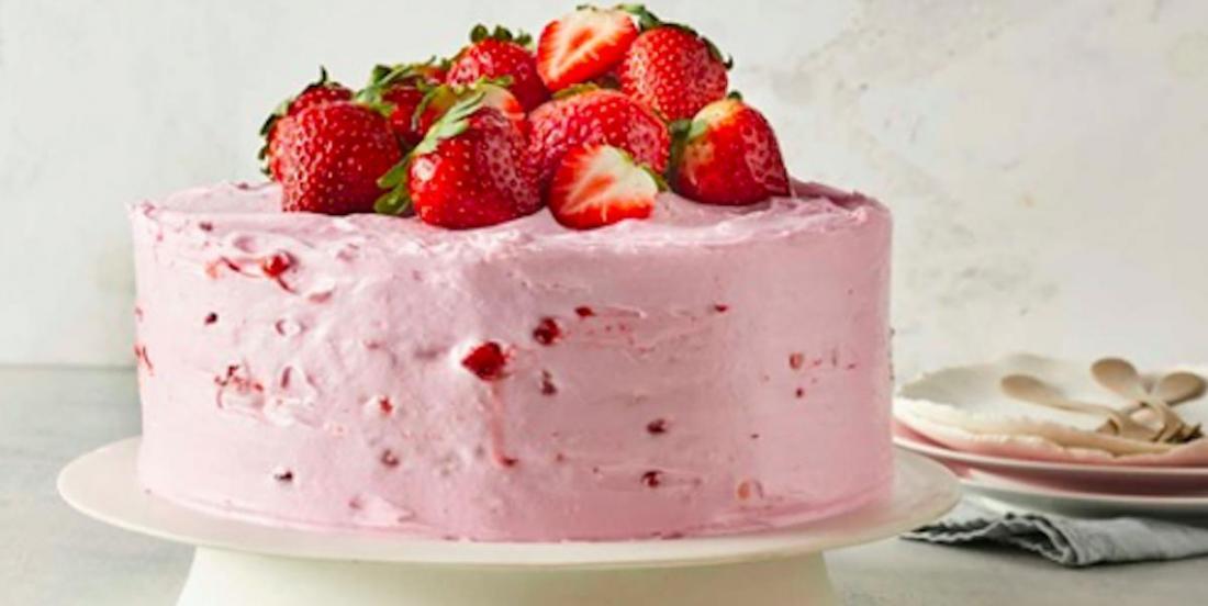 Sublime gâteau aux fraises et à la limonade