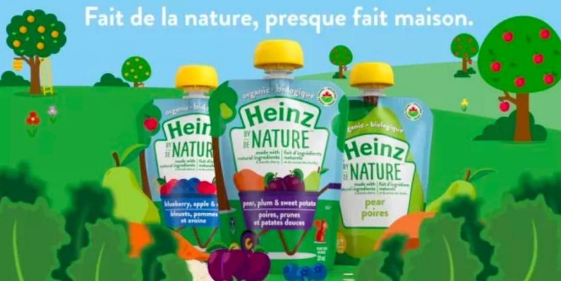 Aliments pour bébés: Heinz réinvente sa gamme de purées