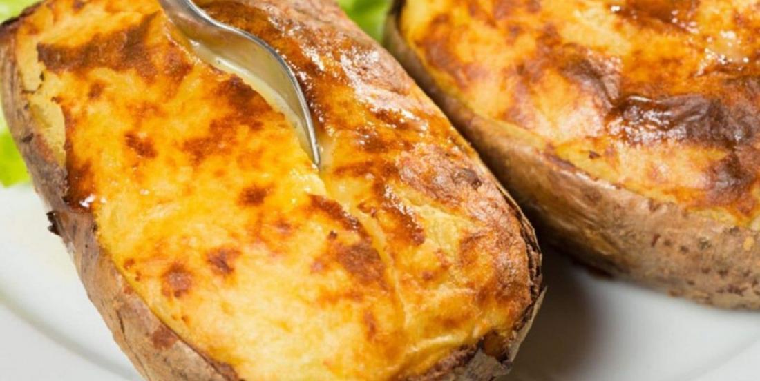 Un accompagnement gourmand: les pommes de terre farcies crémeuses