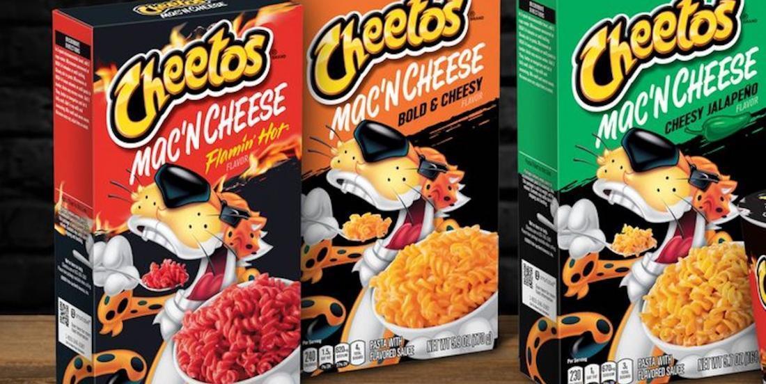 Un nouveau produit pour les fans de Cheetos et de Mac & Cheese arrive sur les tablettes