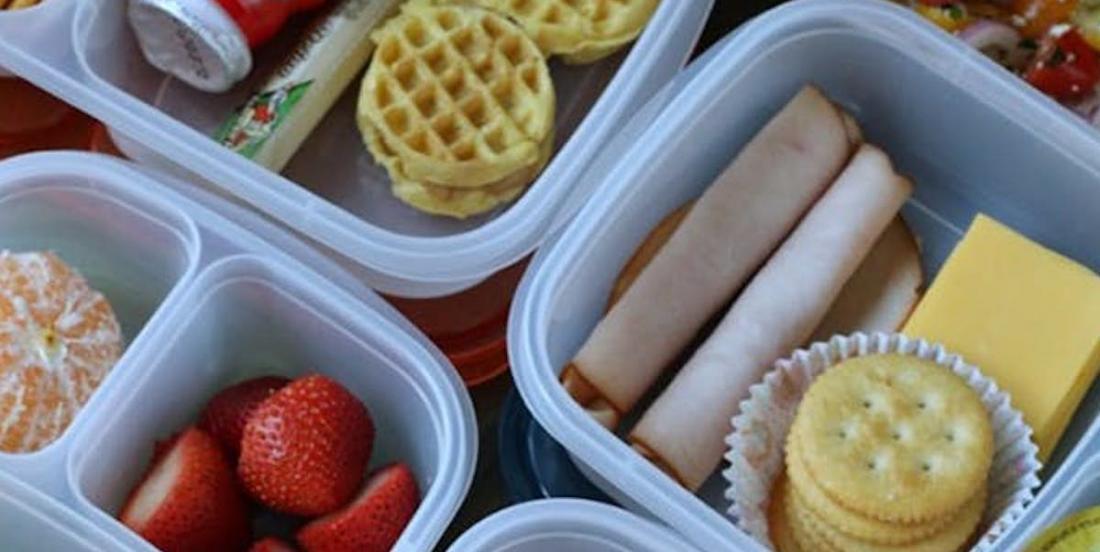 5 idées simples de lunchs pour l'école