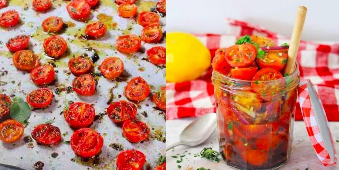 Voici quoi faire avec vos tomates cerises: 2 recettes