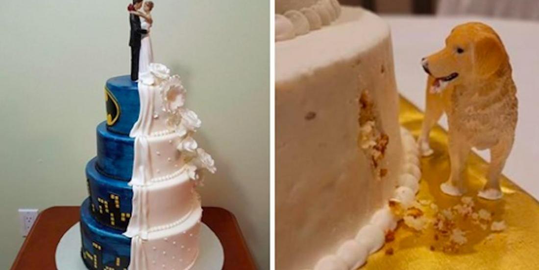22 fabuleux gâteaux de mariage