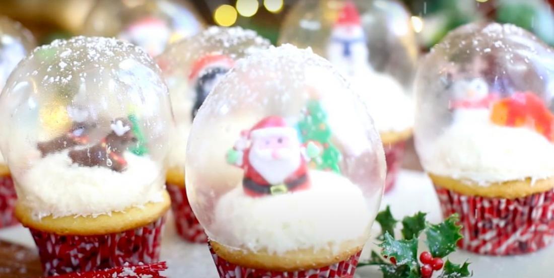 Le hit de votre Noël cette année: des cupcakes «globe à neige»!