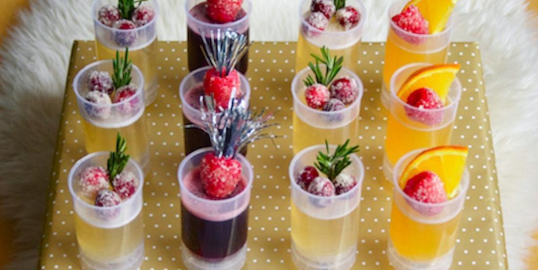 Célébrez la nouvelle année en préparant des pops pétillants au Jello!
