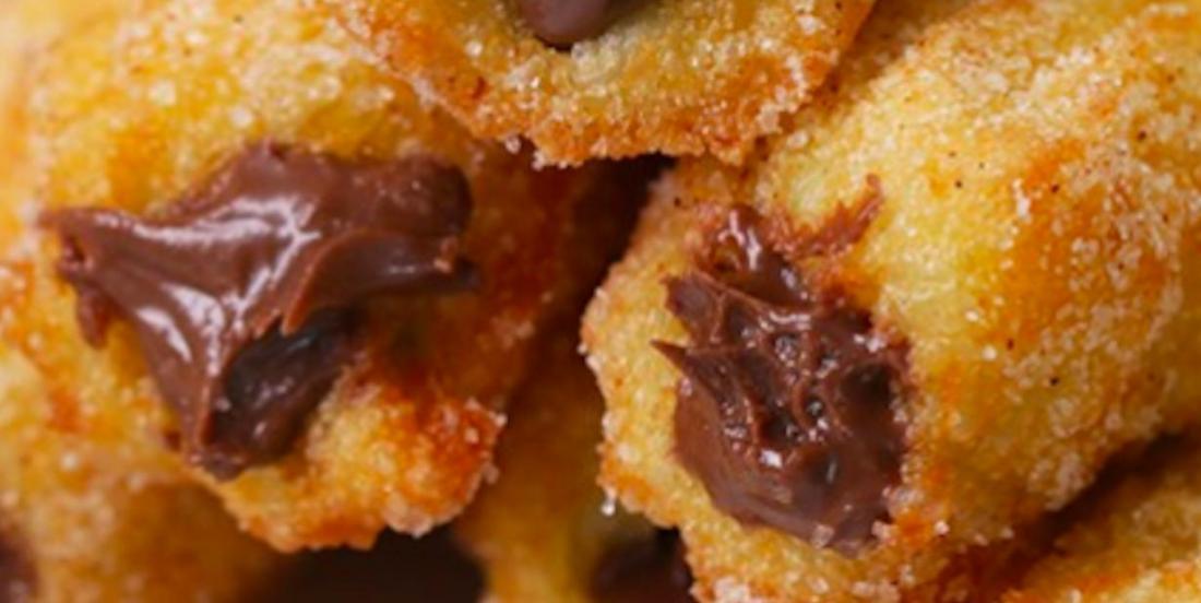 Une gâterie réconfortante parfaite: des churros chocolat-noisettes