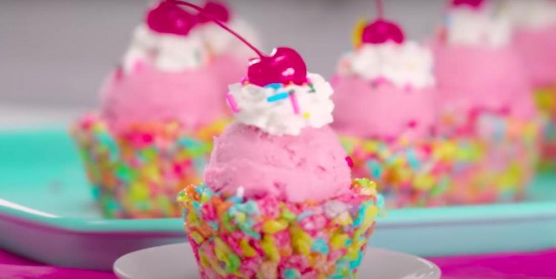 Une idée qui ravira petits et grands: des bols à dessert comestibles!