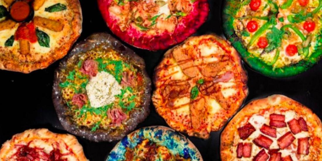 Cette pizzéria crée des pizzas colorées pour les grands enfants