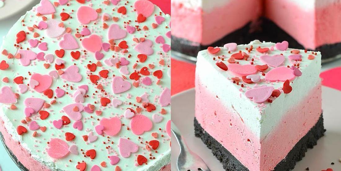 Sublime gâteau au fromage de la Saint-Valentin