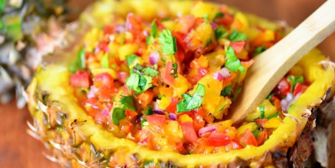 On fête l'arrivée du printemps avec cette somptueuse salsa à l'ananas
