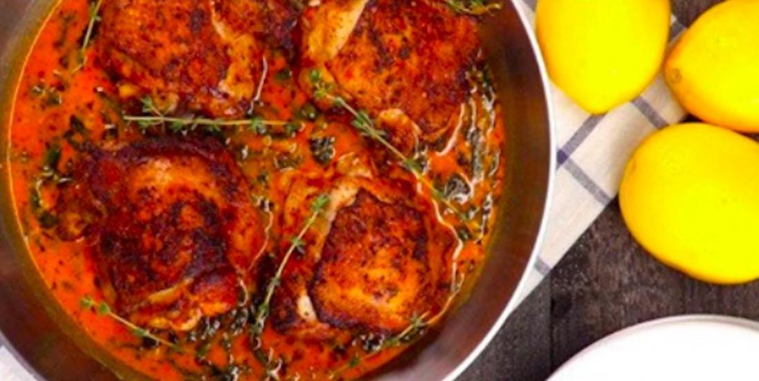 Un souper de semaine au goût de 4*: le poulet crémeux au beurre et au citron