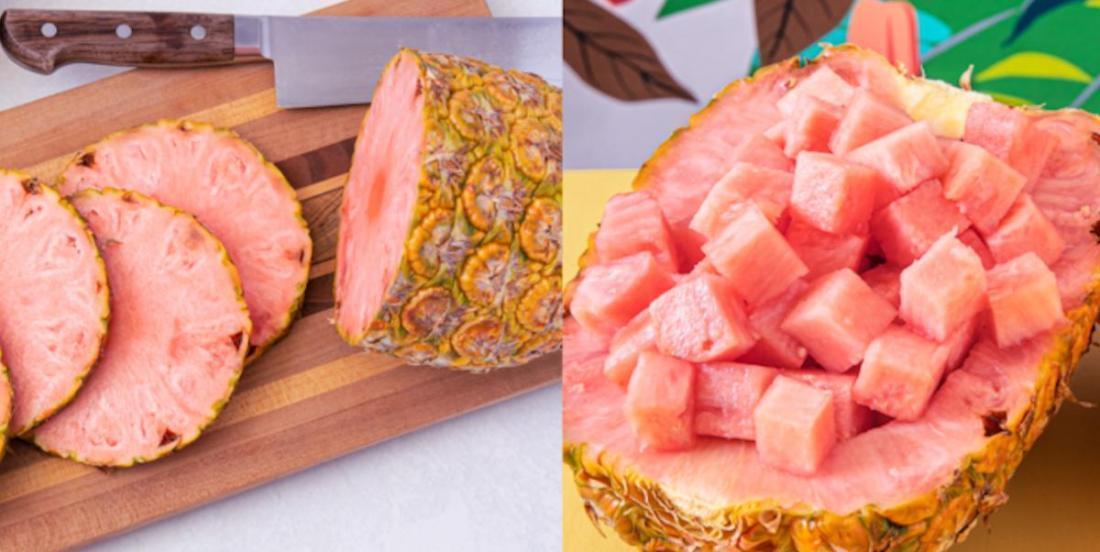 L'ananas rose existe et on dit qu'il est délicieux