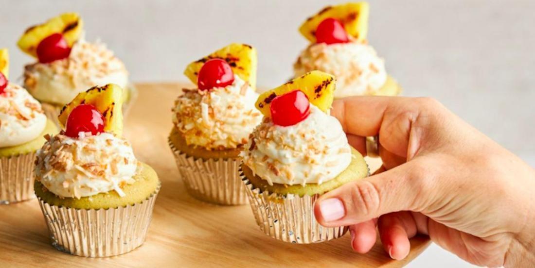 Délice estival: des cupcakes à la Piña Colada