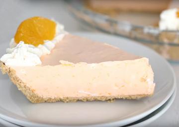 """Cette tarte """"creamsicle"""" vous rappellera de bons souvenirs..."""