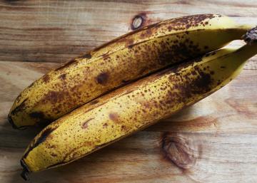 Voici ce qui se passe dans votre corps, lorsque vous mangez des bananes tachetées