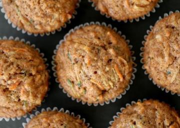 Ces muffins déjeuner sont hyper moelleux... Aussi exquis que santé!