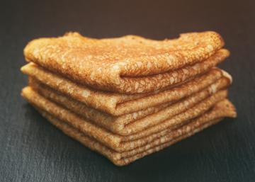 Une pâte à crêpe sans Lait et sans Sucre... Le week-end s'annonce bien!