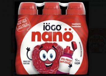 Important : Rappel de produits de yogourt iögo